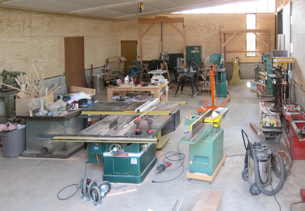 Wood Setting Up A Woodshop PDF Plans
